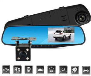 Full HD 1080P Rearview Mirror Video Recorder-Car Dealzz