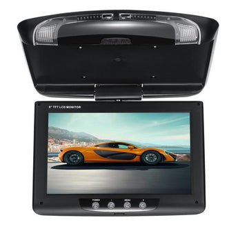 9 Inch Roof Mounted LCD Digital Monitor-Car Dealzz