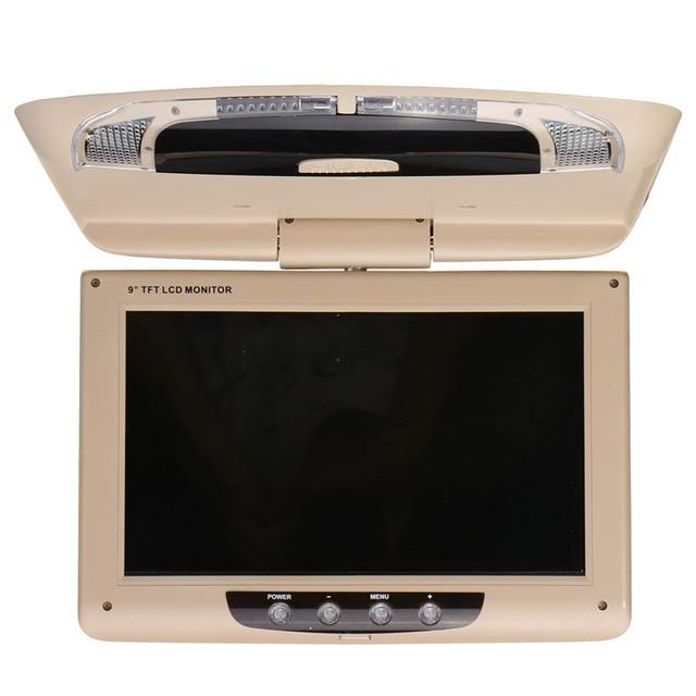9 Inch Roof Mounted LCD Digital Monitor - Car Dealzz