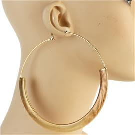 120mm Metal Hoop Earrings