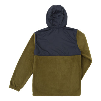 Dark Seas Waghorn Fleece - Army/Black