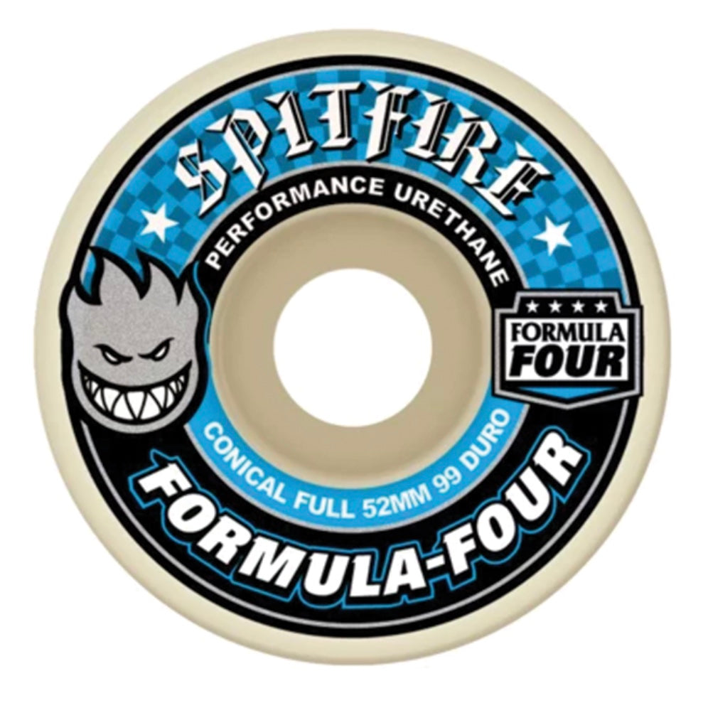 Spitfire Formula Four Wheels Conical Full 99 - Assorted Sizes