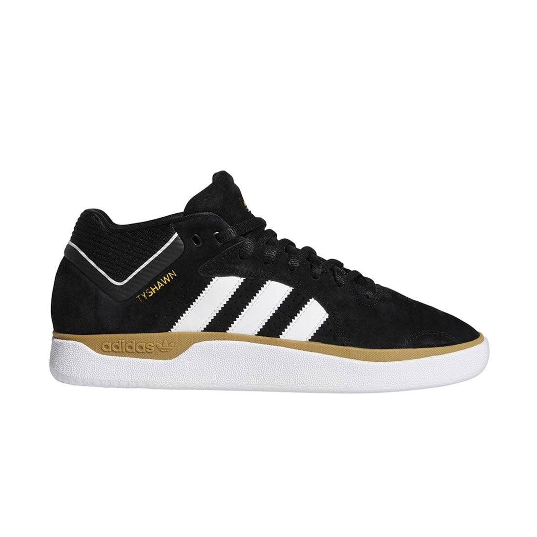 Adidas Tyshawn Jones - Black/White/Gum