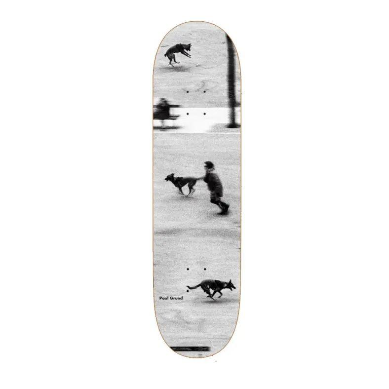 Polar Paul Grund Dog Studies Skateboard Deck