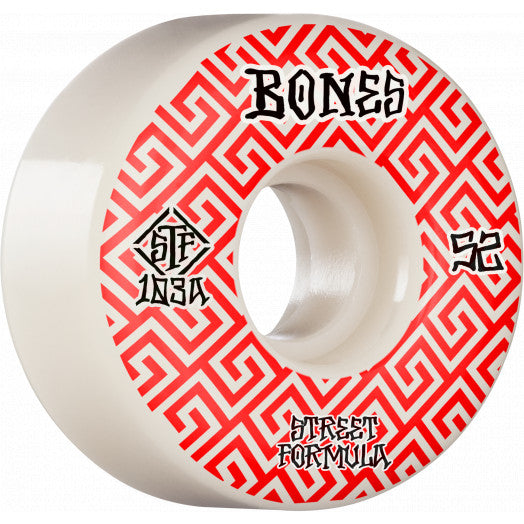 Bones Patterns V2 Locks 52mm STF 103A Wheels