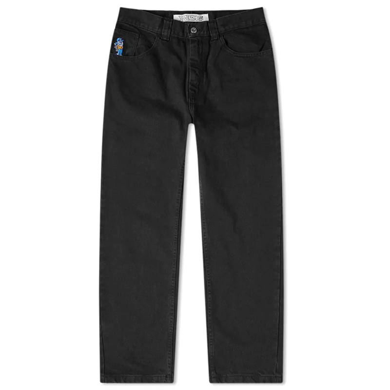 Polar Skate Co 93 Denim Jeans - Pitch Black