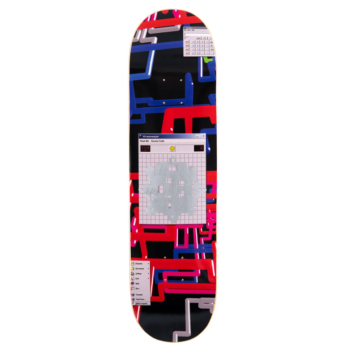 WKND Tom K Minesweeper Skateboard Deck - 8.0/ 8.25 / 8.38