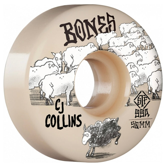Bones CJ Collins Black Sheep STF V3 Slims 50mm - 52mm