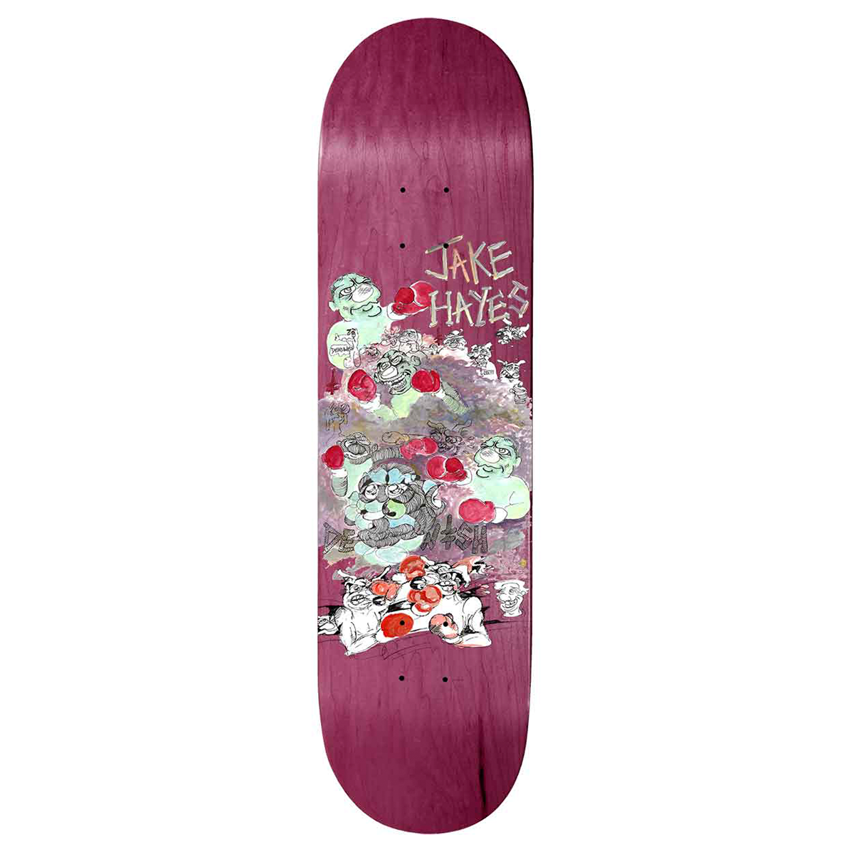 Deathwish Jake Hayes Mice and Men Deck size 8.125