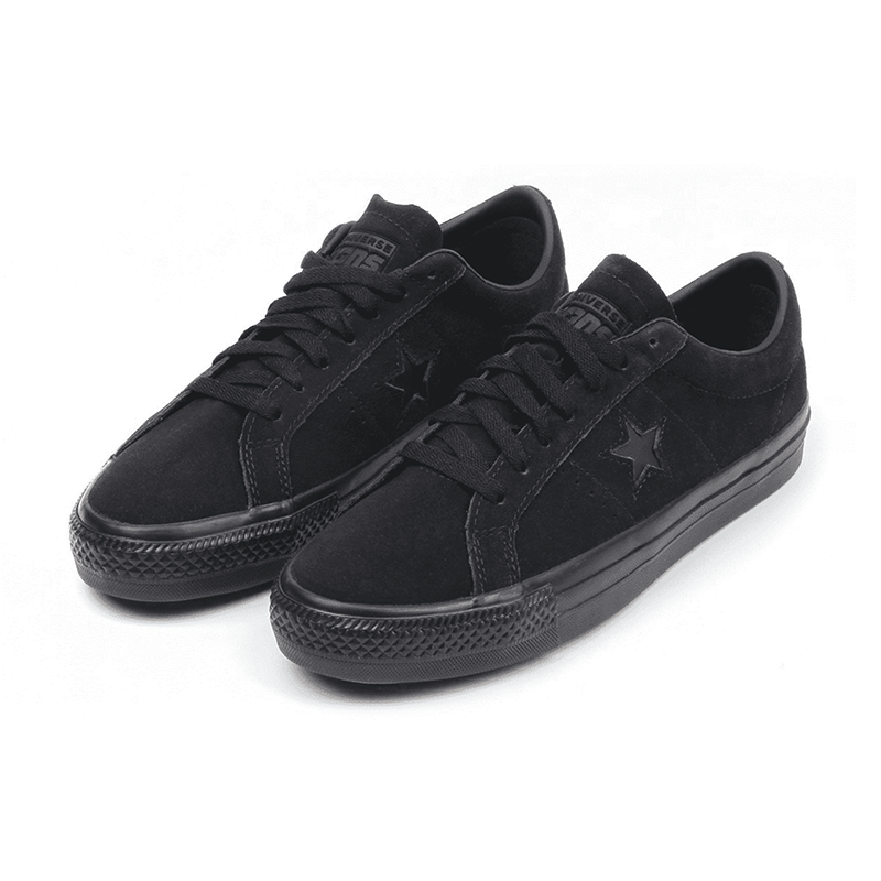 Converse - One Star Pro Ox - Black / Black