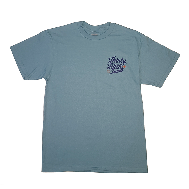 35th North Barr Logo T-Shirt Celadon