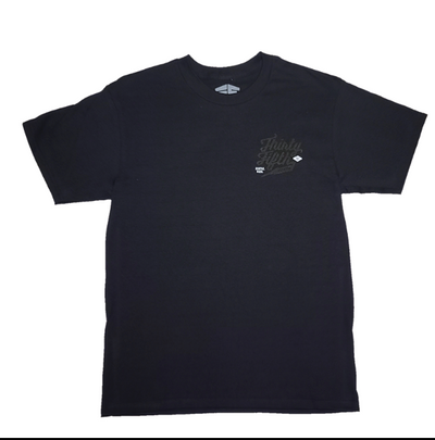 35th North Barr Logo T-Shirt  Black / Black