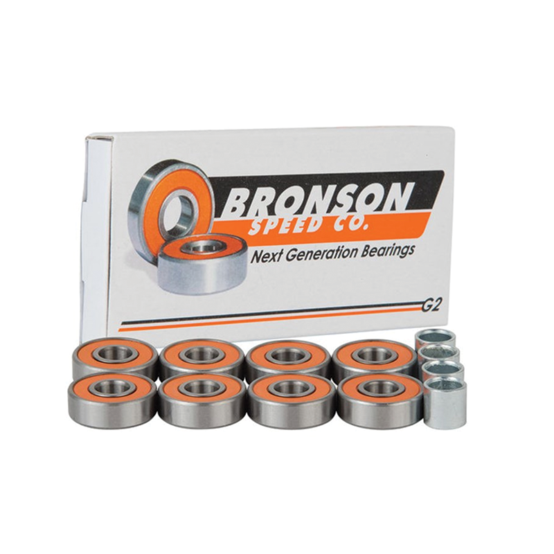 Bronson Speed Co Skateboard Bearings G2 - Pack