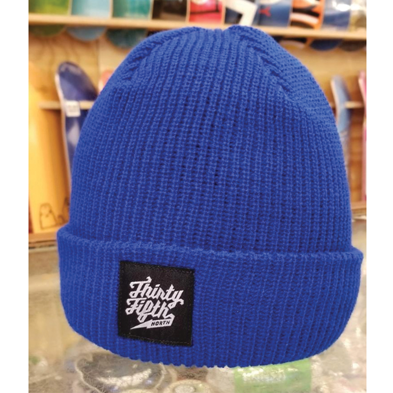 35th North Barr Logo Beanie - Blue