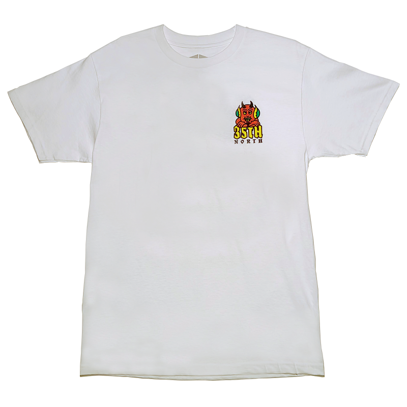 35th North Hell Below T-Shirt - White