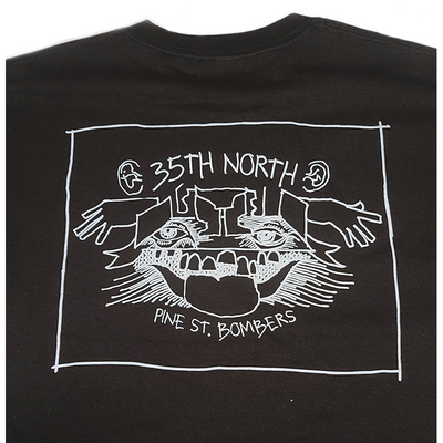 35th North Gonz Pine St. Bombers T-Shirt - Black