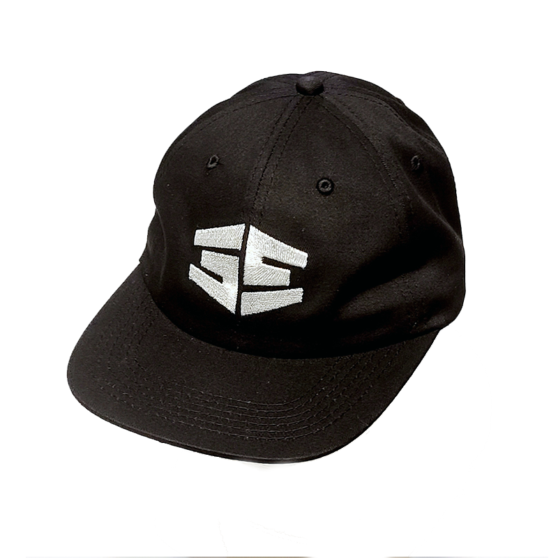 35th North Tron Snapback Hat - Black/White