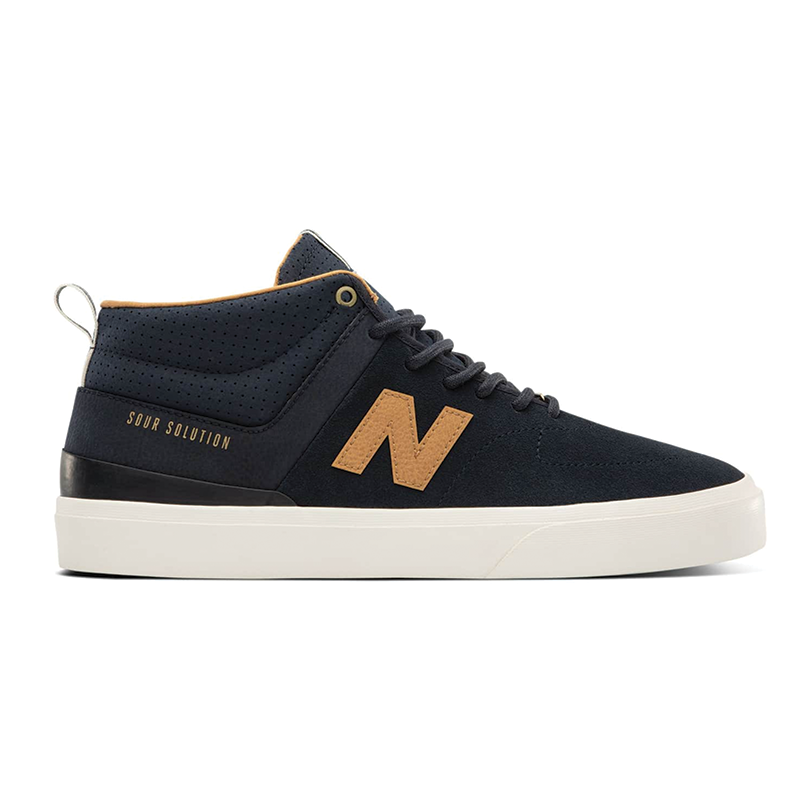 New Balance Numeric 379 Mid Sour Solution - Navy / Brown