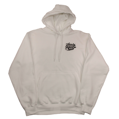 35th North Sketchy Barr Hooded Sweatshirt - White