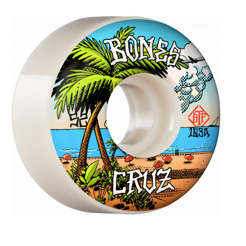 Bones Yonnie Cruz Buena Vida V2 Locks Wheels 52mm - 53mm