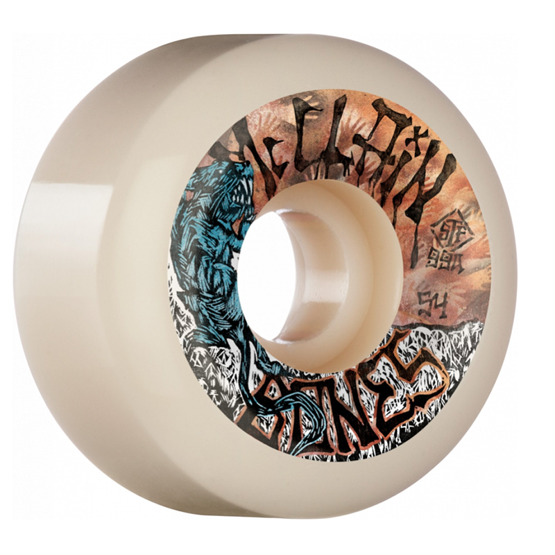 Bones Brad McClain Primal V6 Wide Cut 54mm Wheels