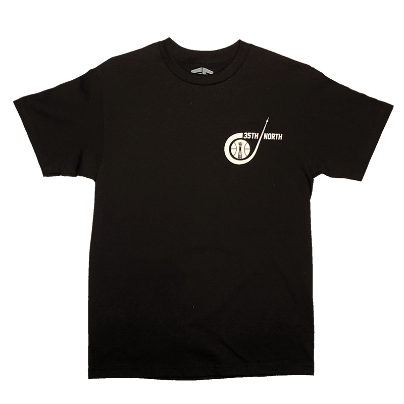 35th North Sonic T-Shirt - Black / White