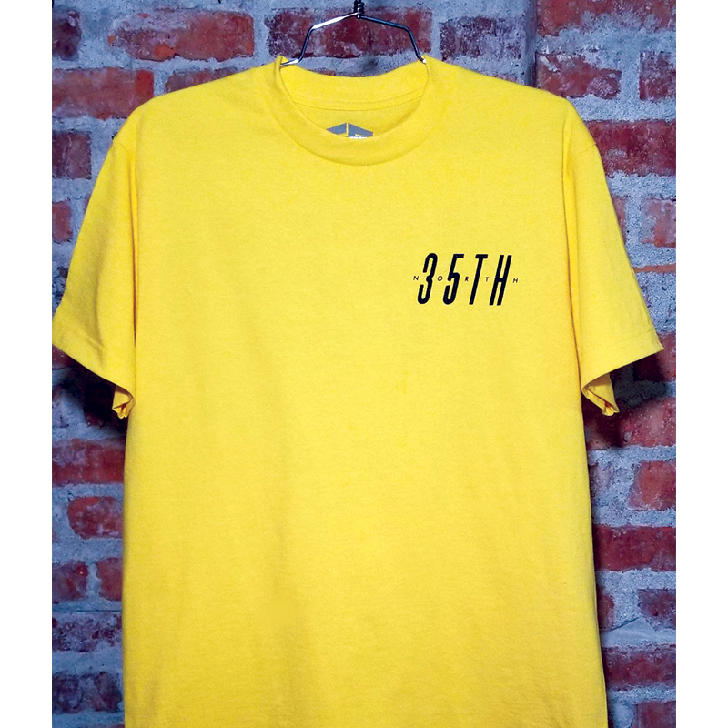 Sam Logo Tshirt - Yellow
