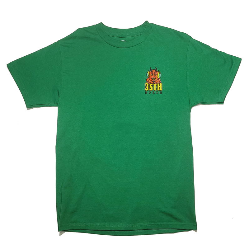 35th North Hell Below T-Shirt - Green