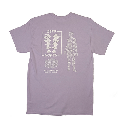 35th North Trippy T-Shirt - Lavender