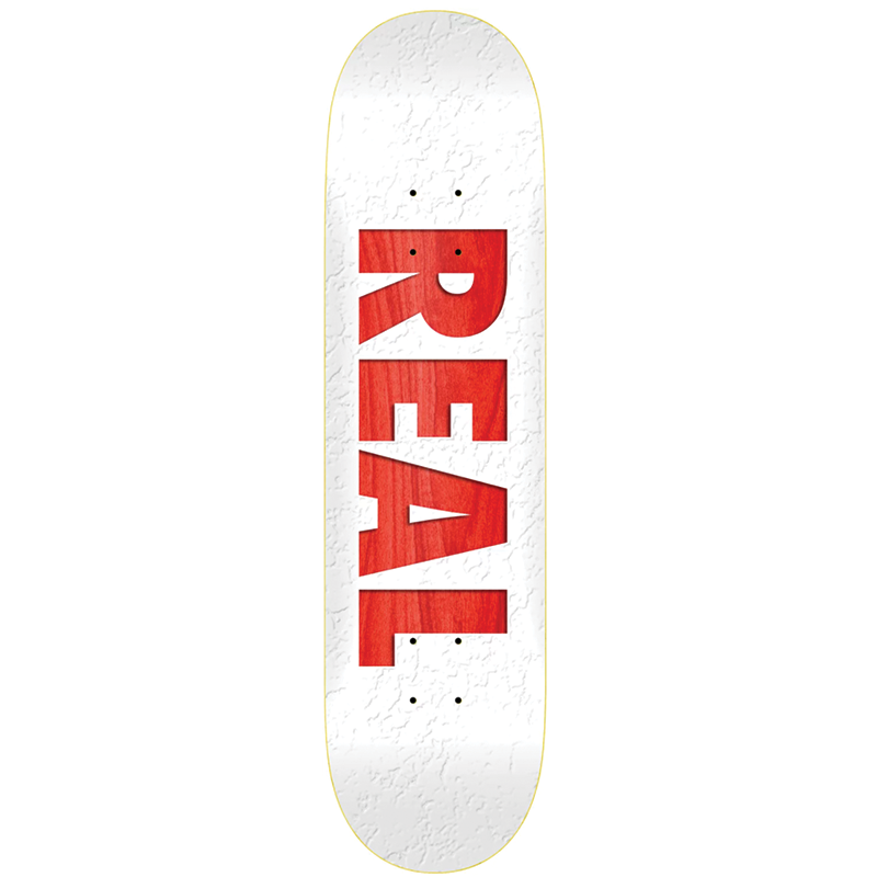 Real Bold TM Skateboard Deck size 8.5