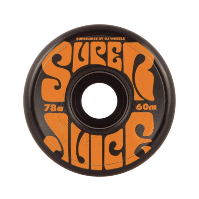 OJ Super Juice Wheels 78a Black