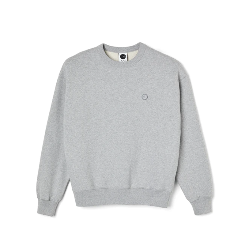 Polar Skate Co. Patch Crewneck - Sport Grey