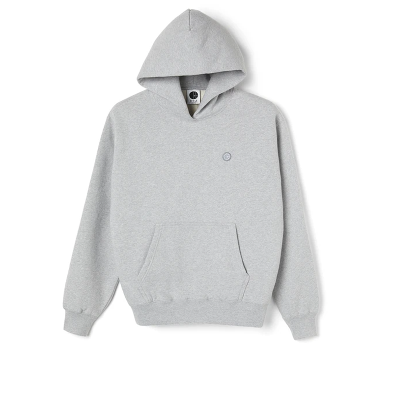 Polar Skate Co. Patch Hoodie - Sport Grey