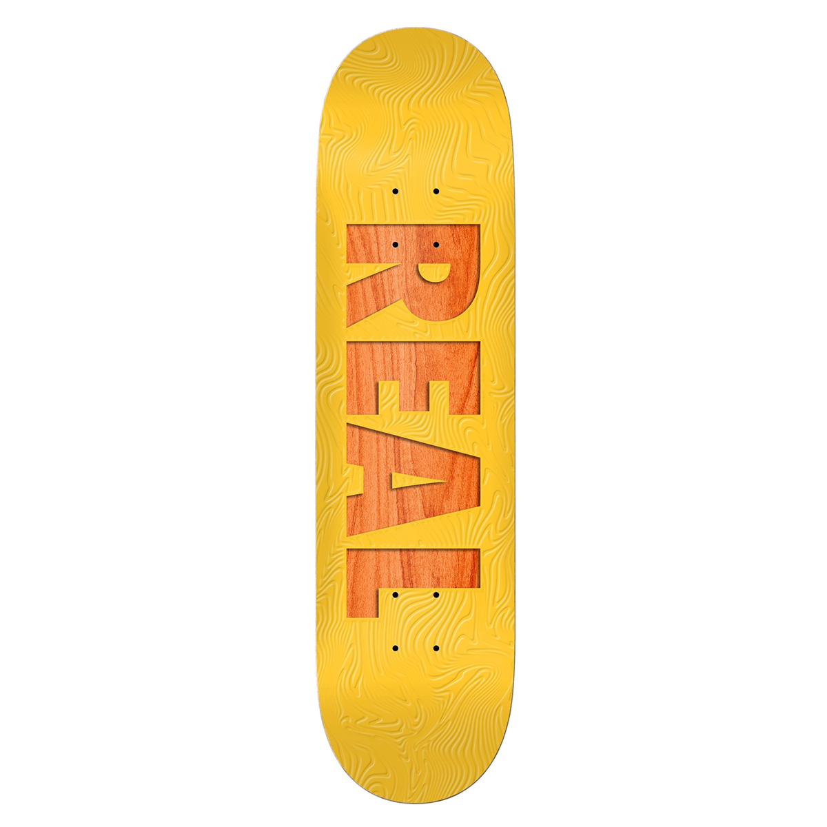 Real Skateboards Bold Team Series Deck 8.06 - Yellow