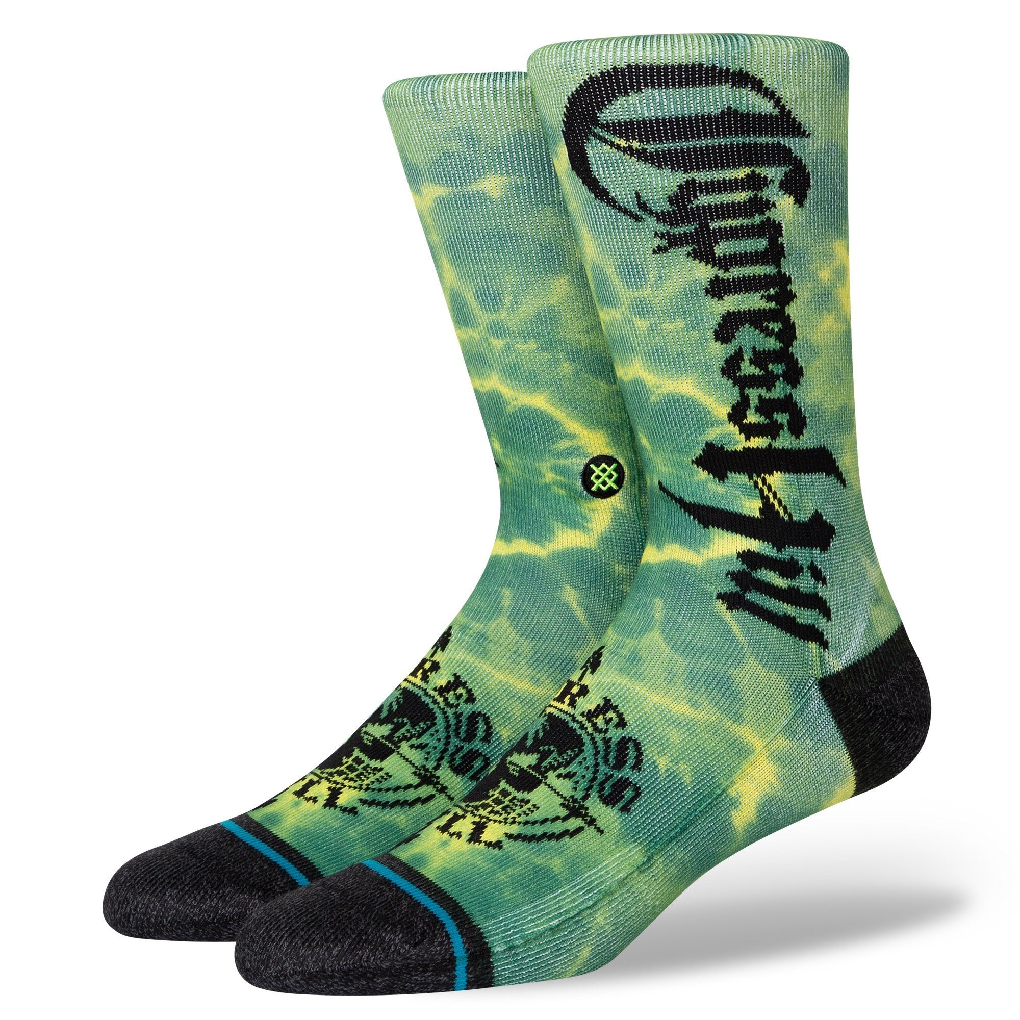 Stance Insane In The Brain Socks - Green