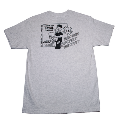 35th North Secret T-Shirt - Heather Grey