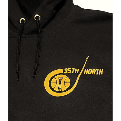 35th North Sonic Black Carhartt Hooded Sweatshirt