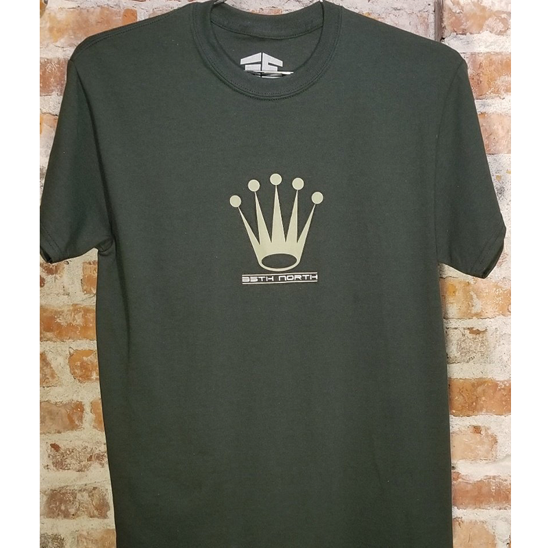 35th North Crown T-Shirt - Green