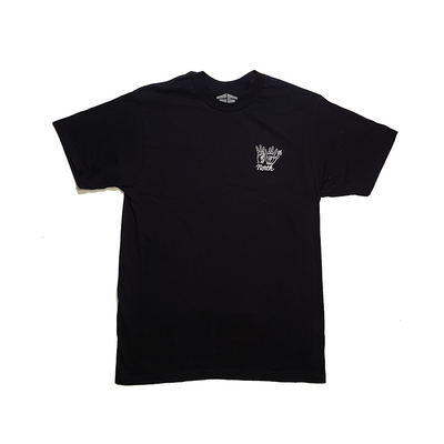 35th North Hand Signs Tee - Black