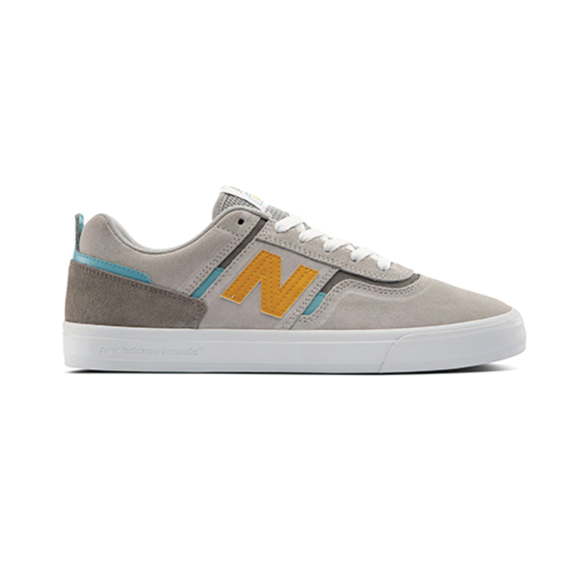 New Balance Numeric 306 Jamie Foy - Grey / Yellow