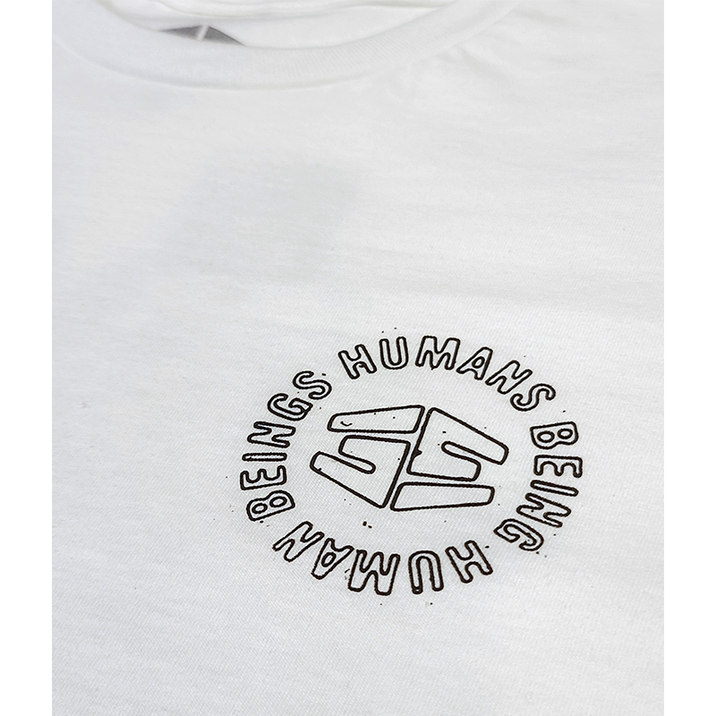 "35th North ""Humans"" T-Shirt - White"