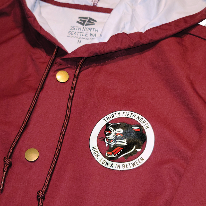 35th North In-Between Jacket - Maroon