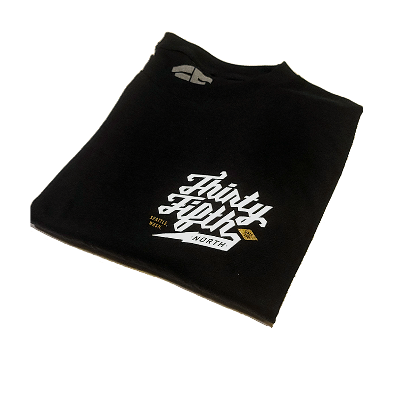35th North Barr Logo T-Shirt - Black