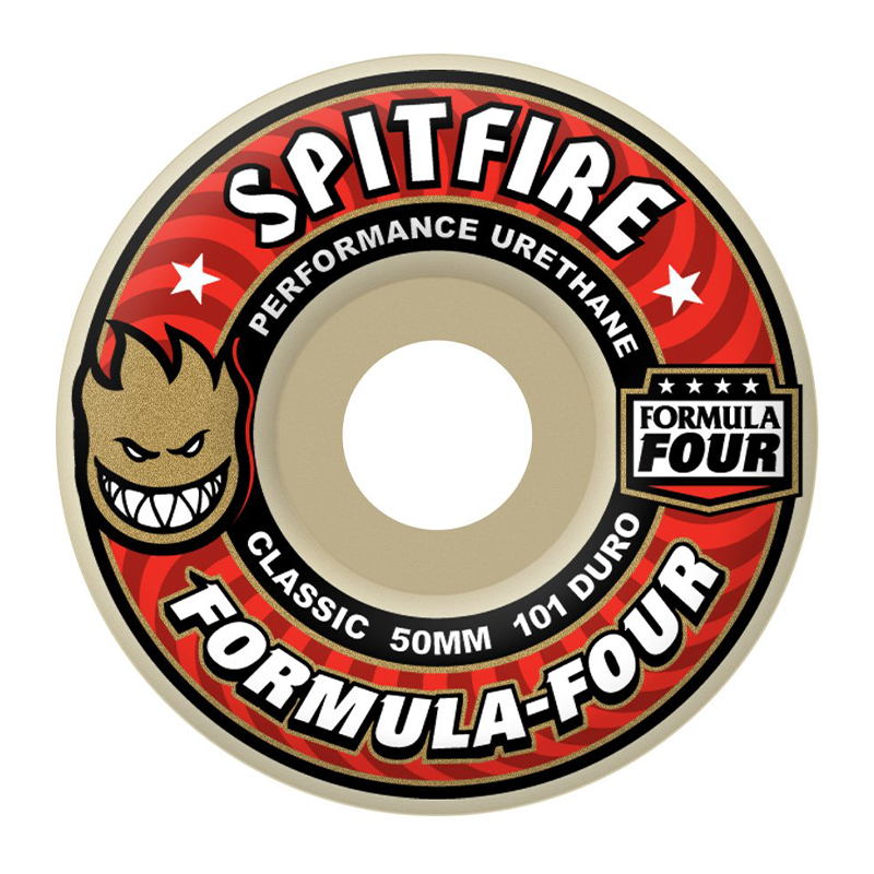 Spitfire Formula Four Wheels Classic 101 - Assorted Sizes