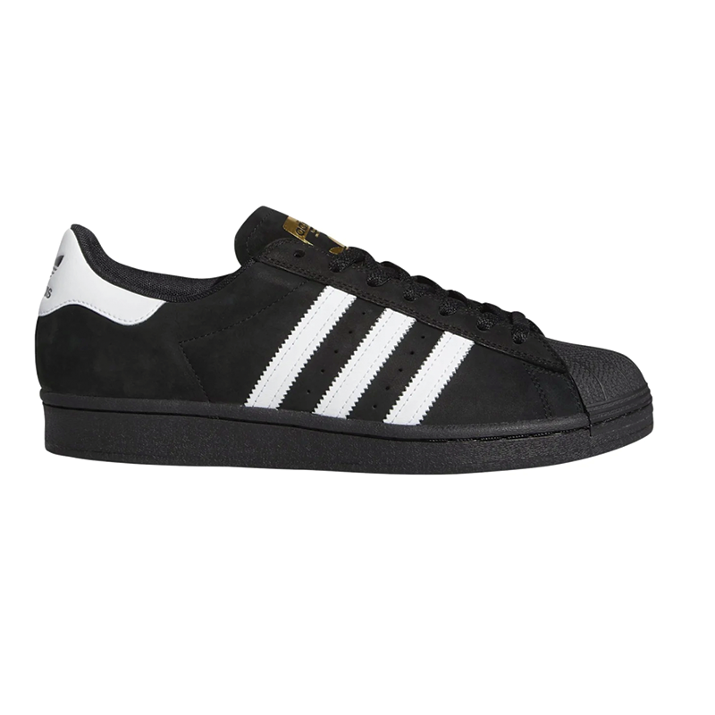 Adidas Superstar ADV - Black / White / Gold
