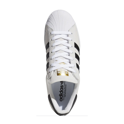 Adidas Superstar ADV - White/Black/Gold