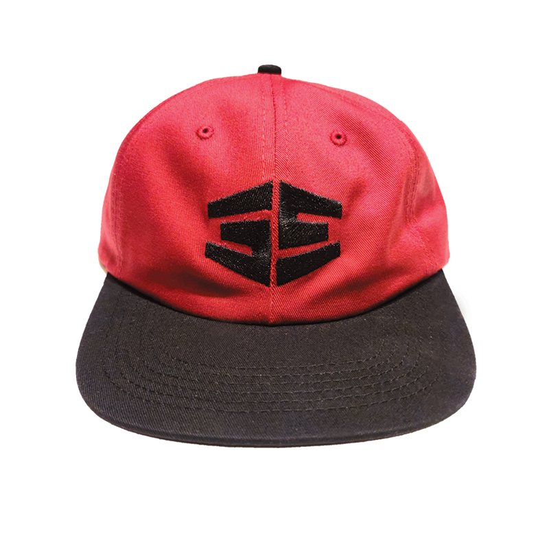 35th North Tron Logo Snapback - Burgundy / Black