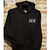 35th North Sam Logo Premium Hooded Sweatshirt - Black