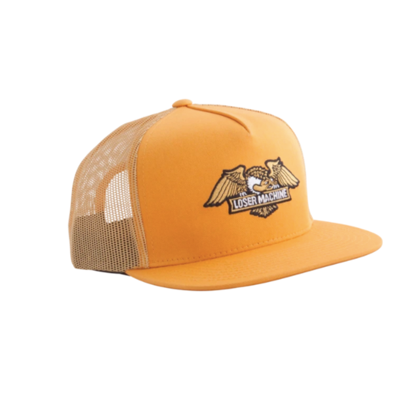 Loser Machine Wings Trucker Hat - Gold