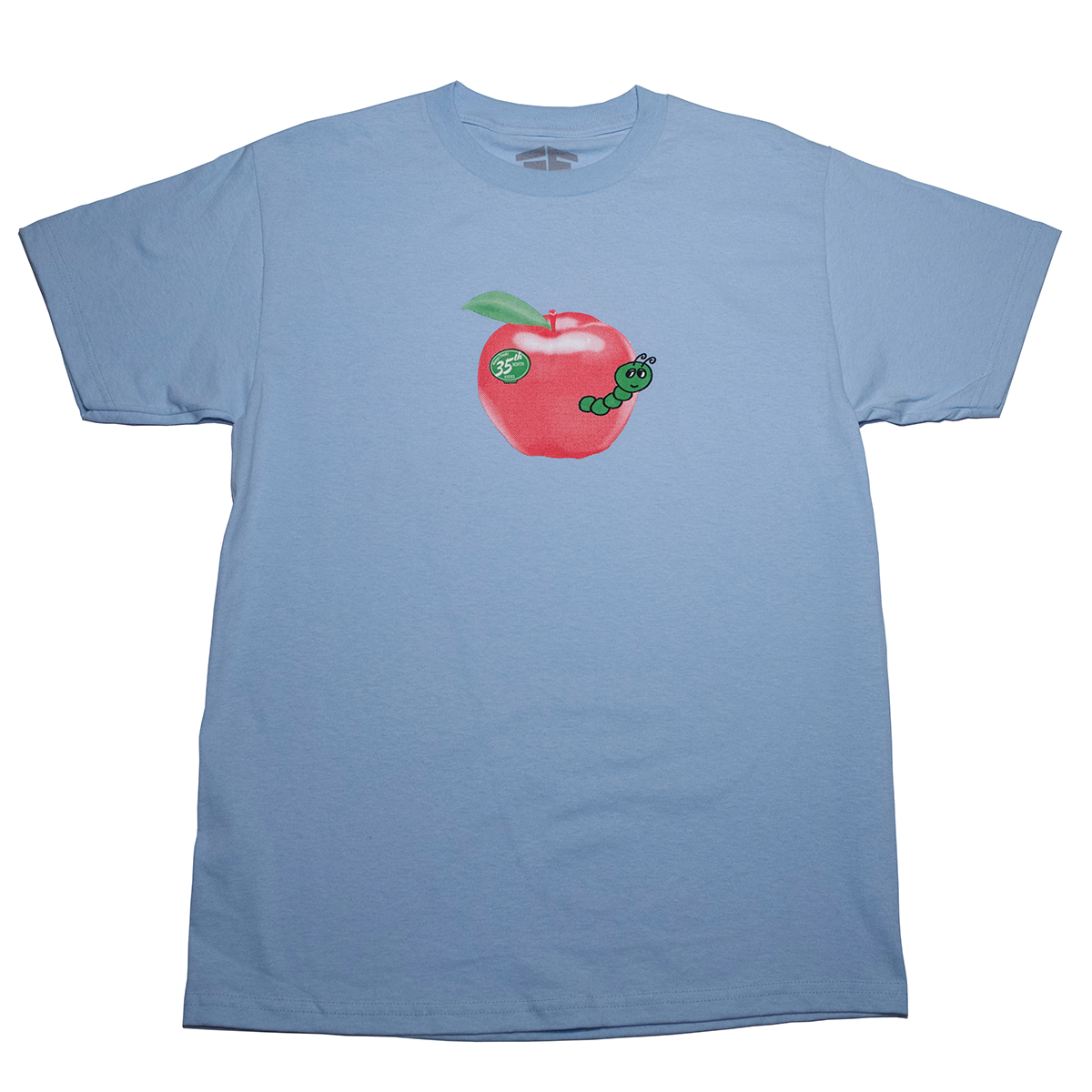 35th North Worm T-Shirt - Baby Blue